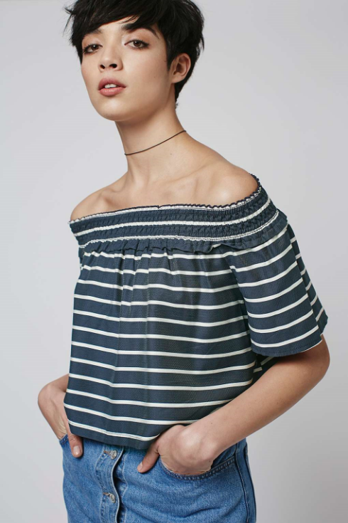 Bardot Blouse from Topshop (Click image to shop)