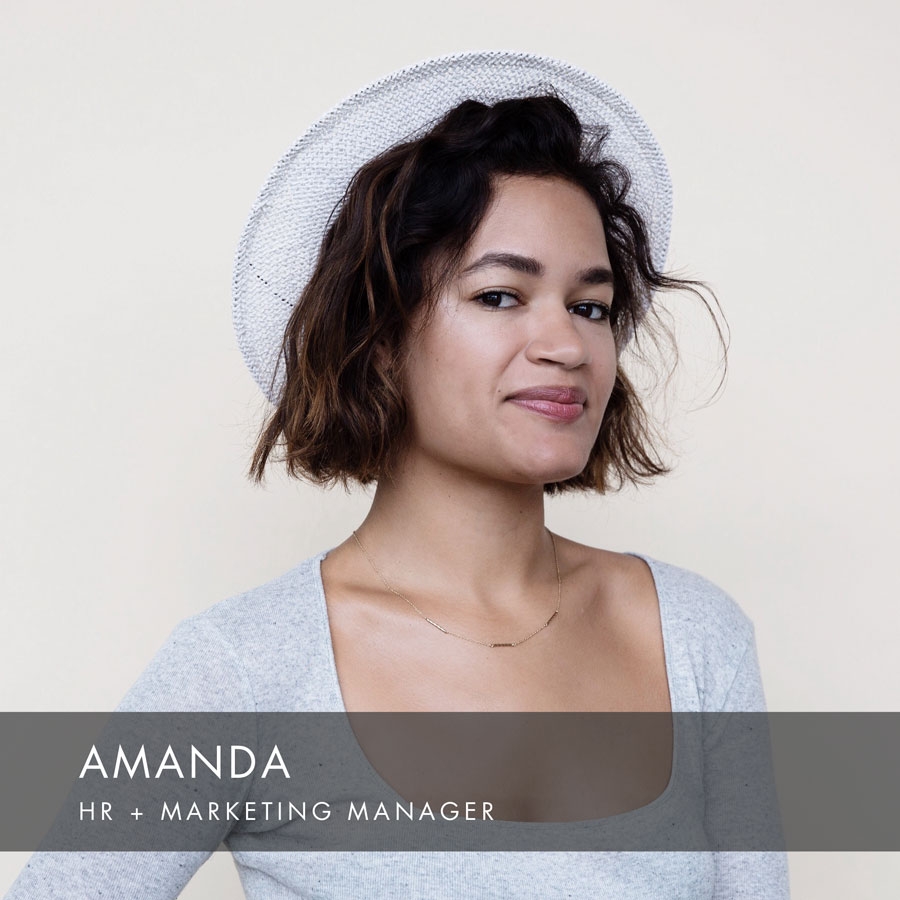 Amanda at HAUS Salon, HR + Marketing Manager