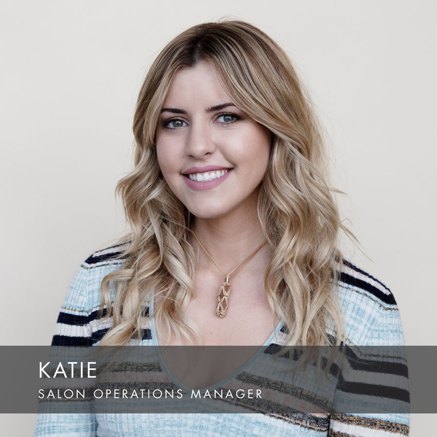 Katie at HAUS Salon, Salon Operations Manager