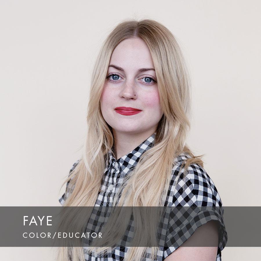 Faye at HAUS Salon South Minneapolis