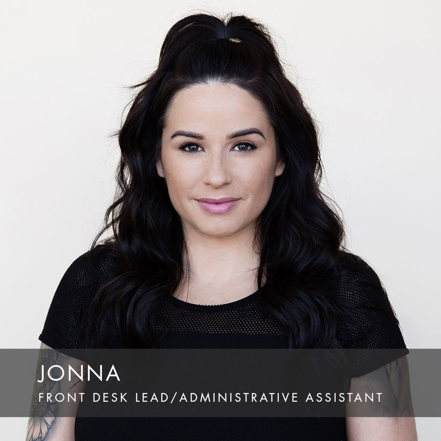 Jonna at HAUS Salon, Front Desk Lead