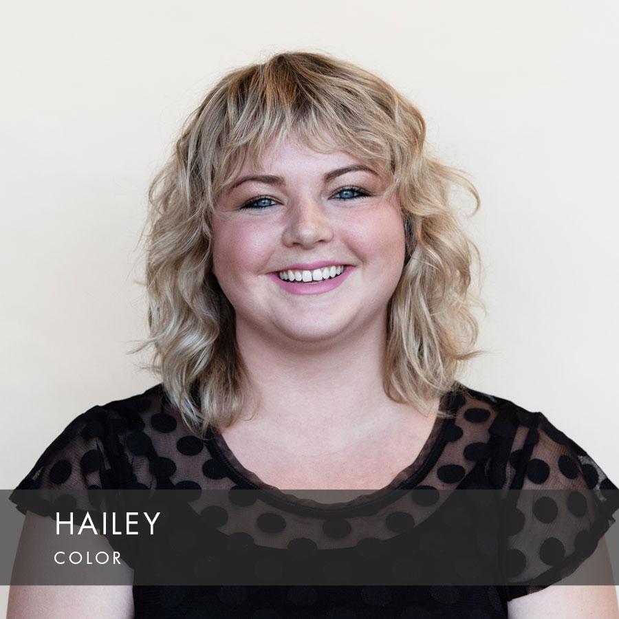 Hailey at HAUS Salon North Loop