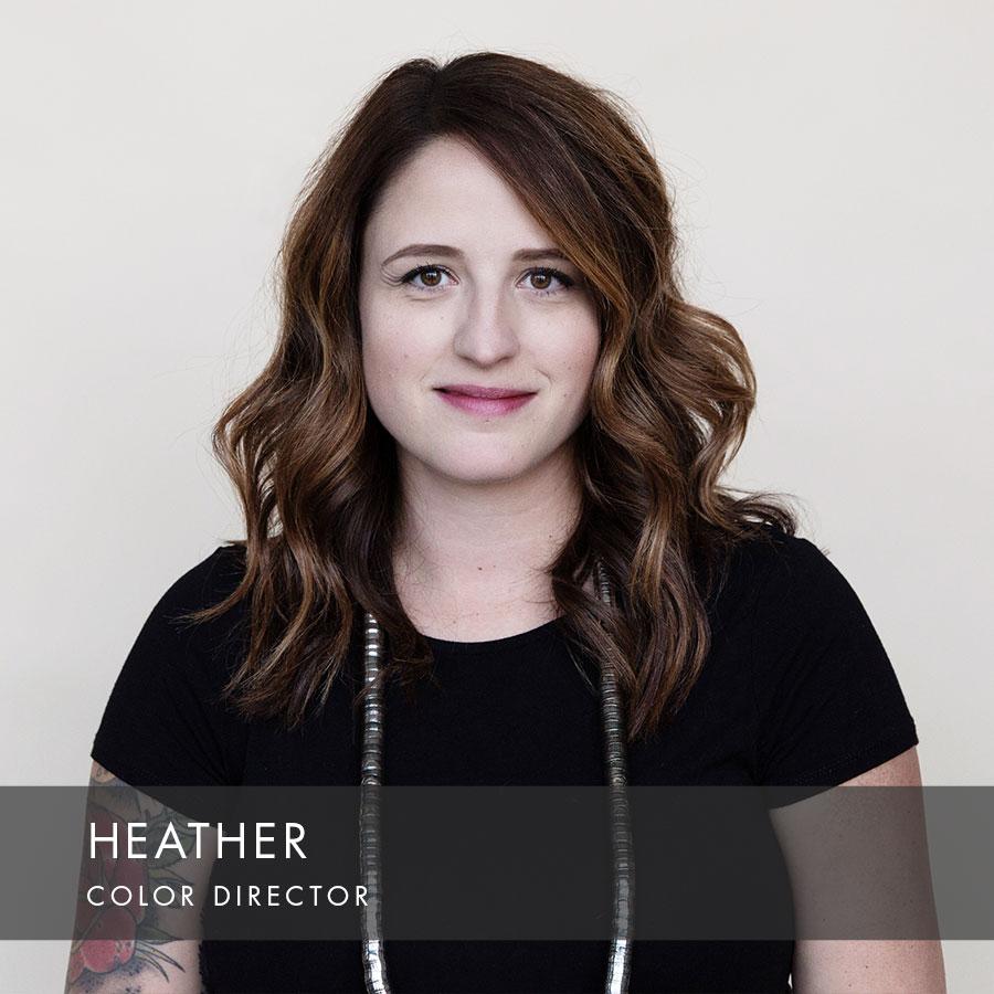Heather at HAUS Salon Northeast