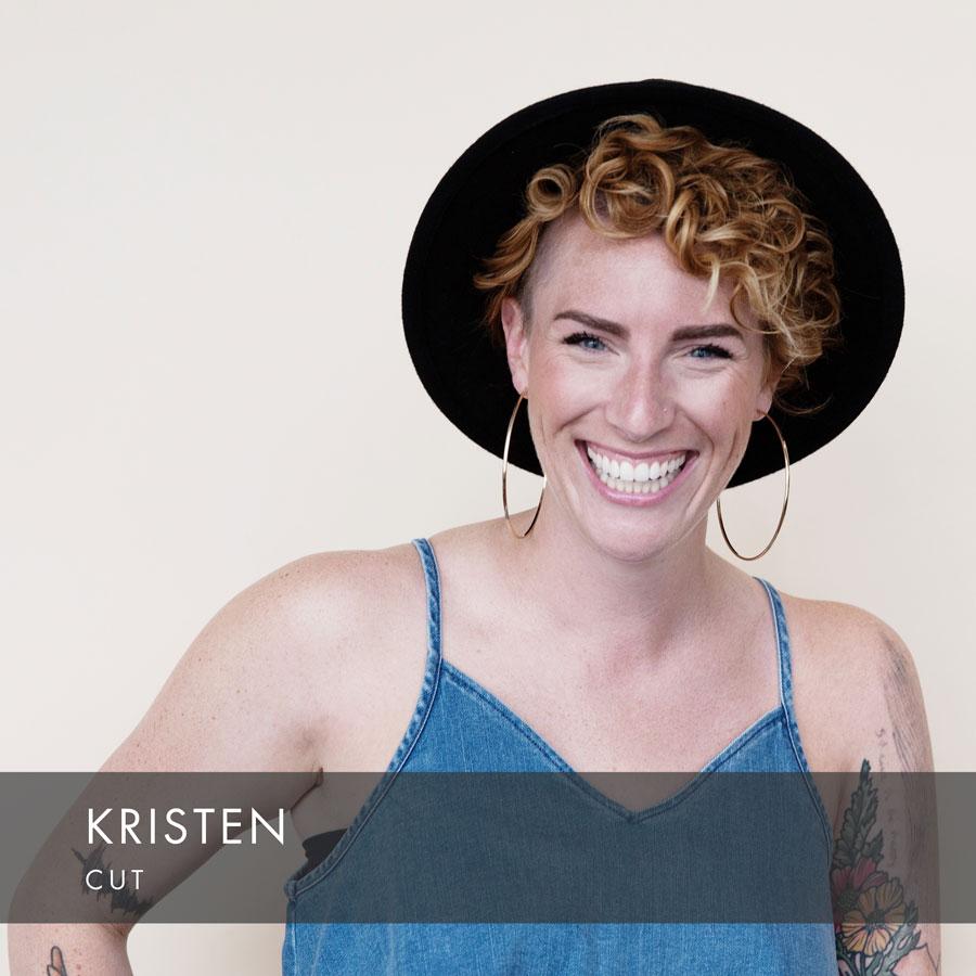 Kristen at HAUS Salon