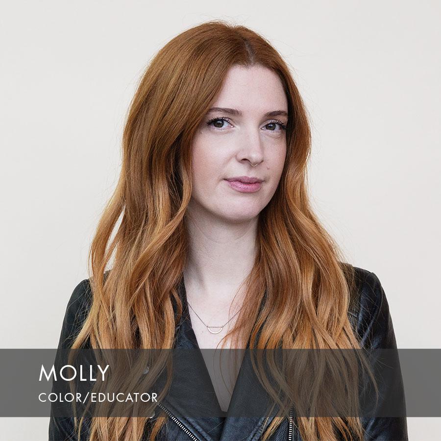 Molly at HAUS Salon