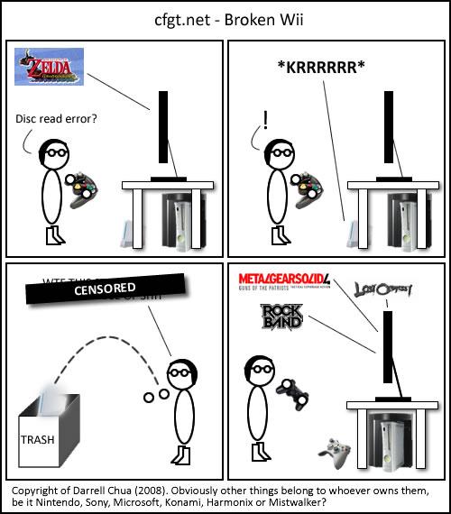 cfgt.net - Broken Wii