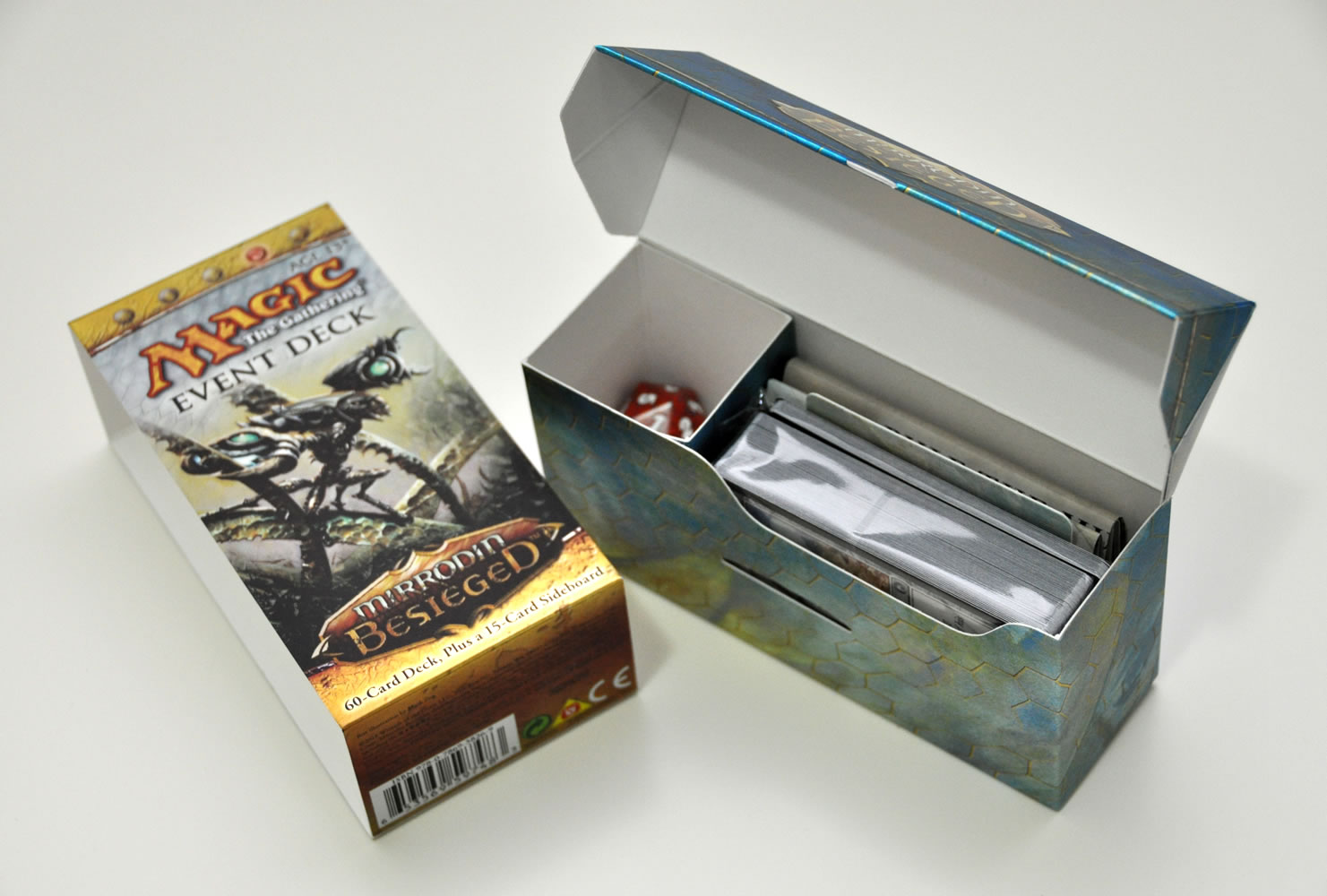 Open Event Deck deck box.