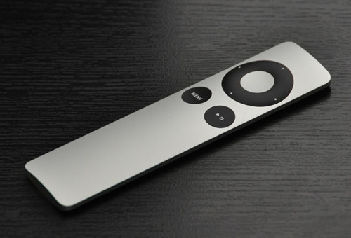 Front of the Apple Remote