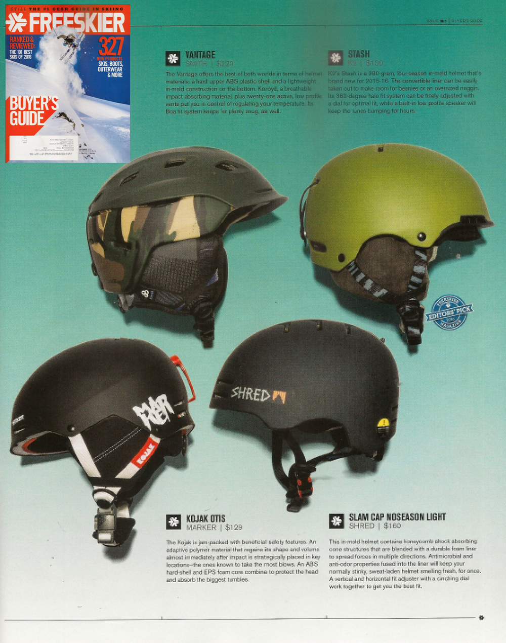 Freeskier, September 2014