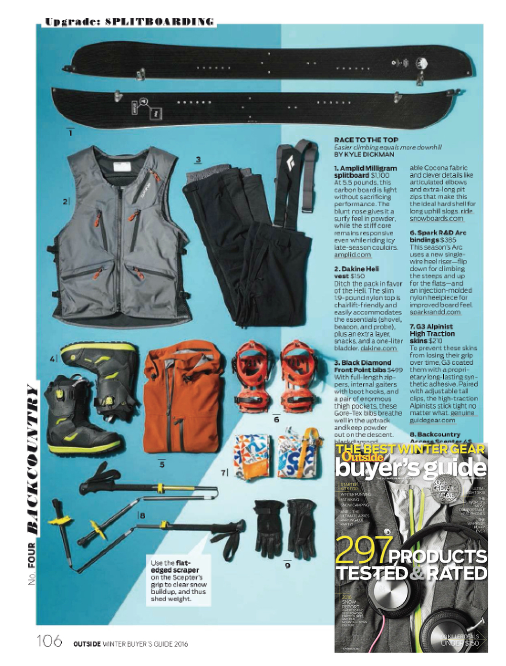Outside Winter Buyer's Guide 2014