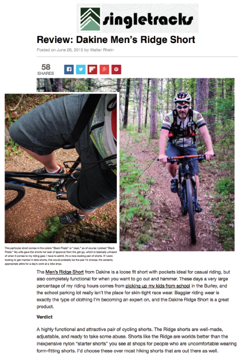 Singletracks, June 2015