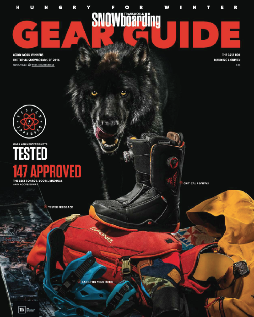 TransWorld Snowboarding Gear Guide 2015