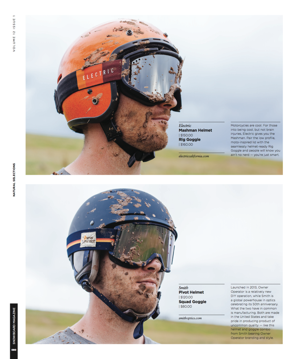 Snowboard Magazine, September 2015