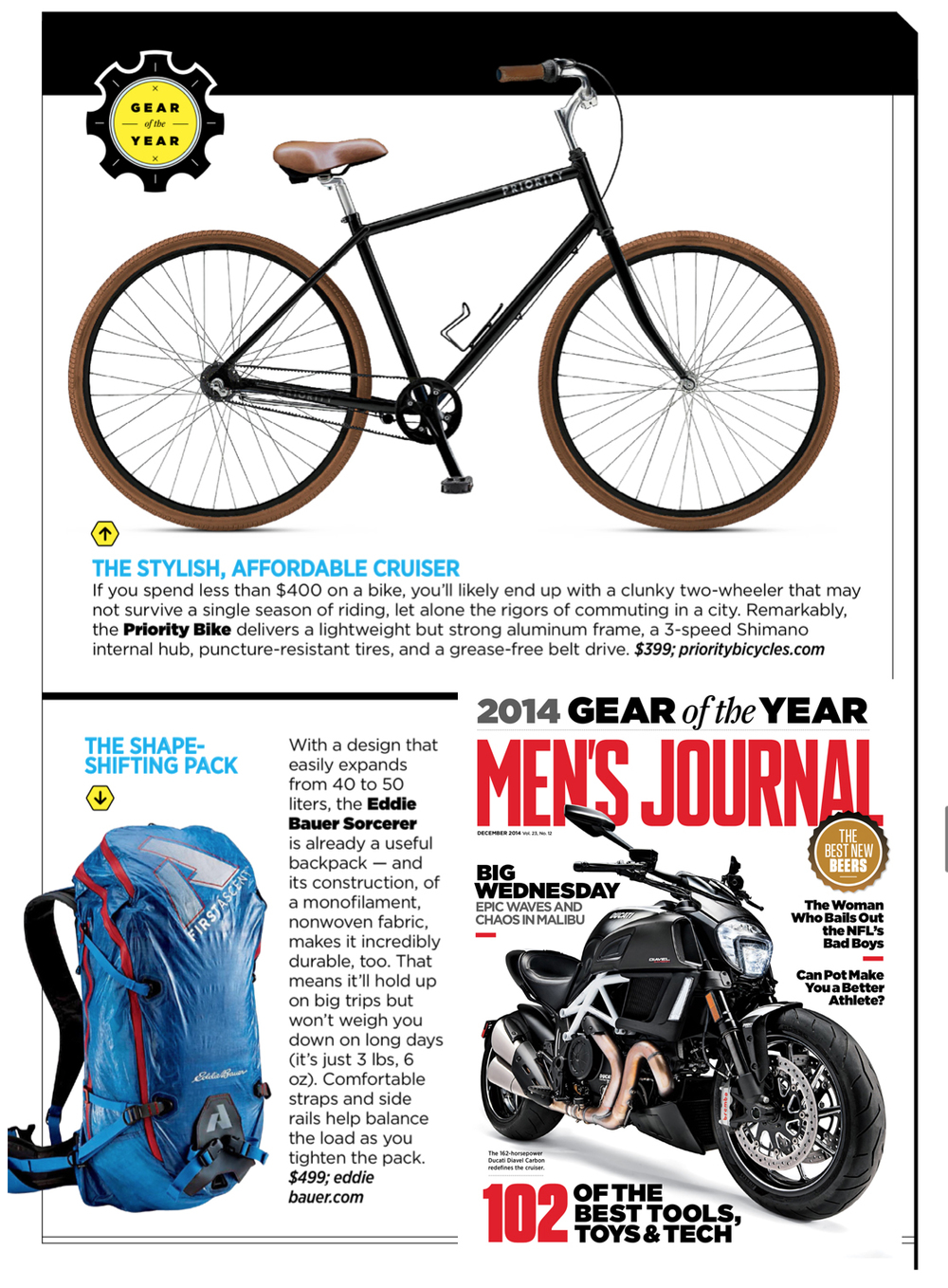 Men's Journal, December 2015