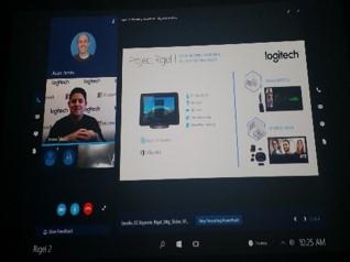 Microsoft's Project Rigel User Interface (Logitech, 2016).