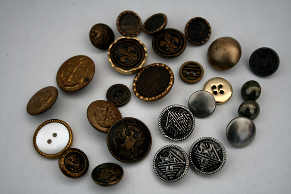 vintage nautical buttons
