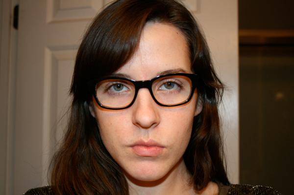 Warby Parker Colton Black Crystal Bilaminate