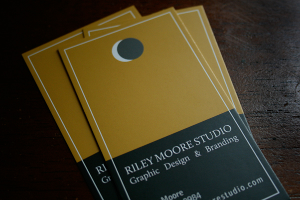 Riley Moore Studio Business Cards