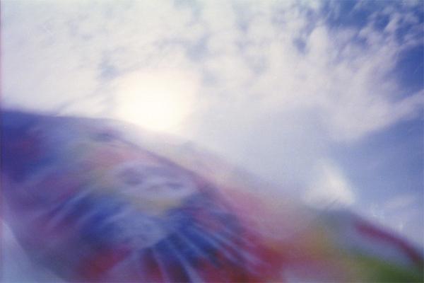 tie dye summer beach sky