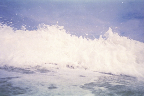 florida ocean waves crashing summer sun