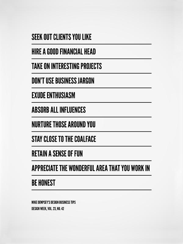 design business tips