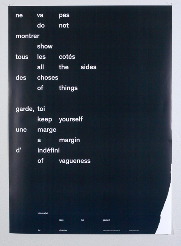 do not show all the sides of things keep yourself a margin of vagueness