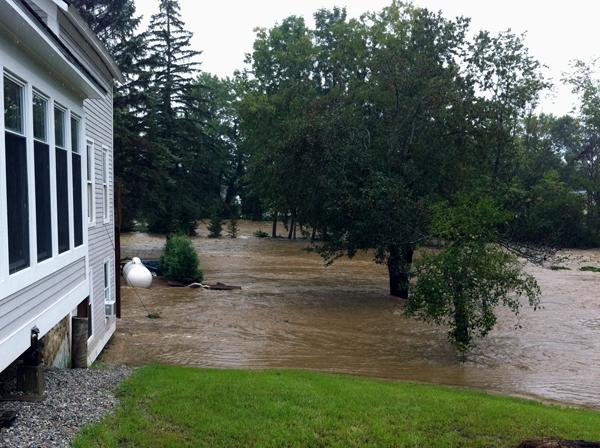 hurricane irene house flood vermont