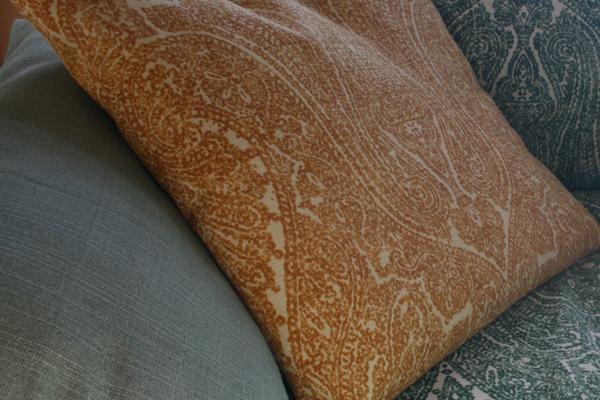 futon pillow fabric