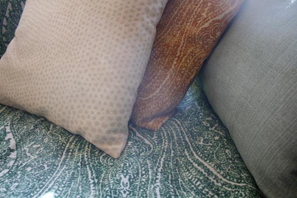 futon pillows fabric