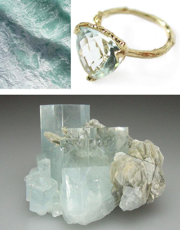 aquamarine march birthstone