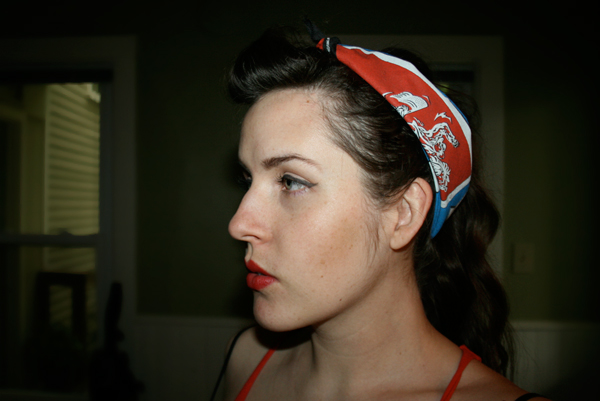 rockabilly hair and makeup