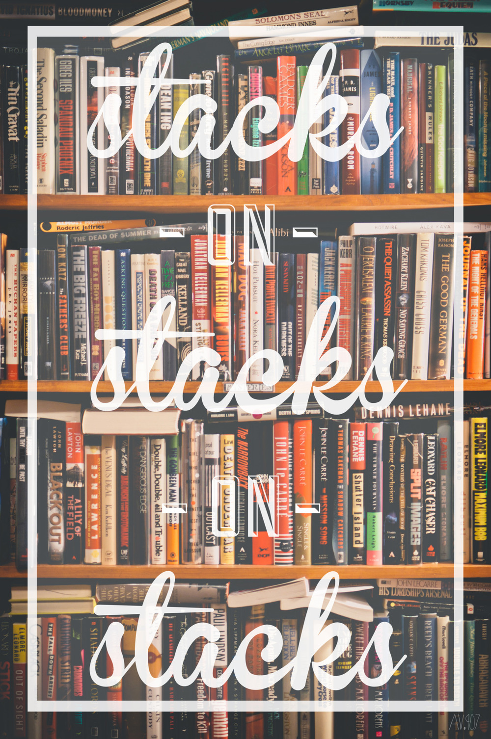 stacks on stacks on stacks