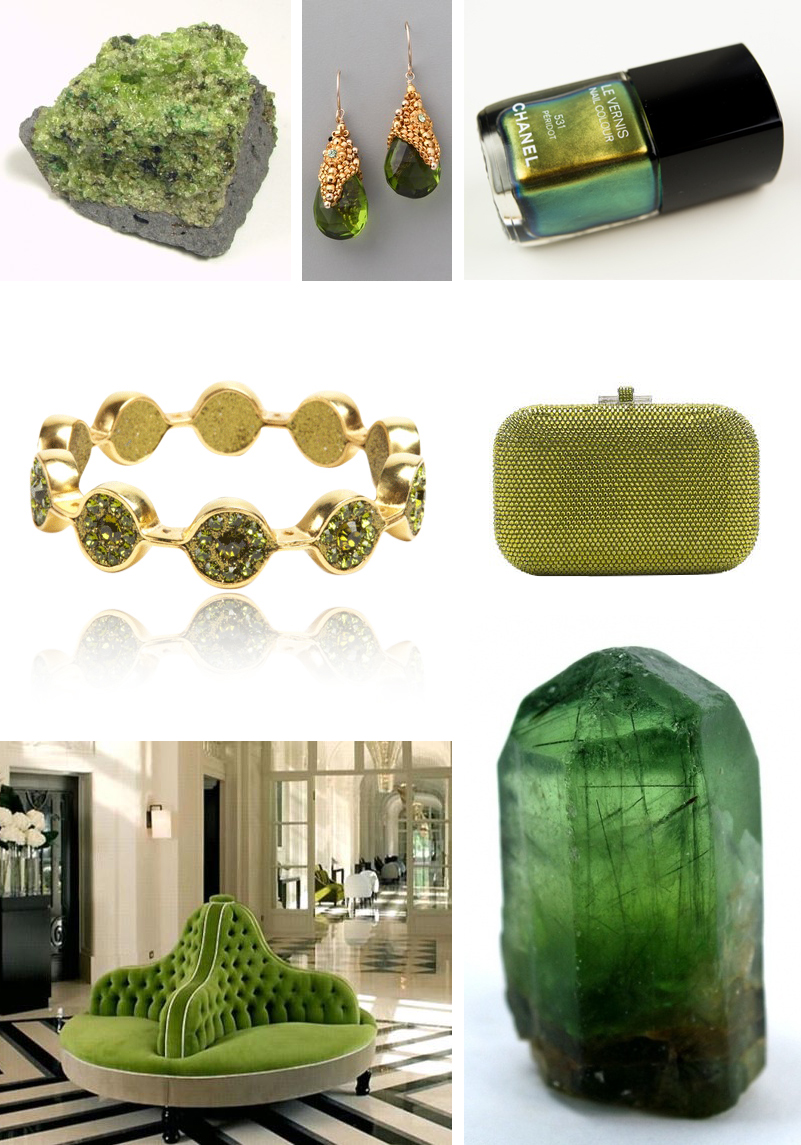 august birthstone peridot inspiration