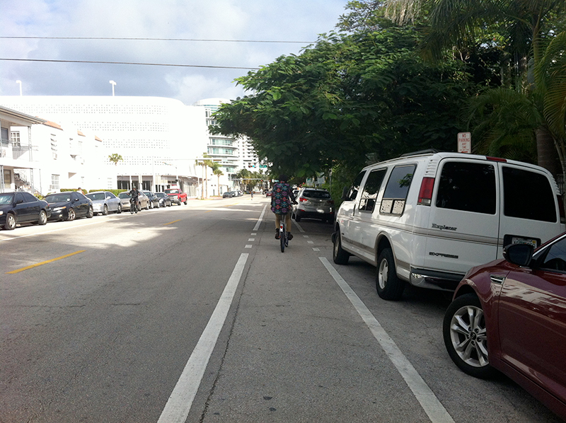 biking in miami