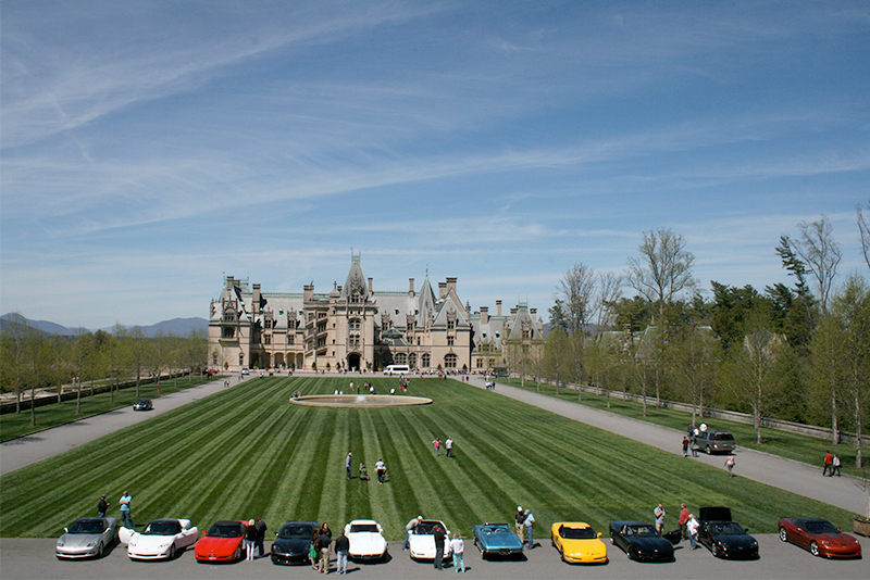 car club at the biltmore