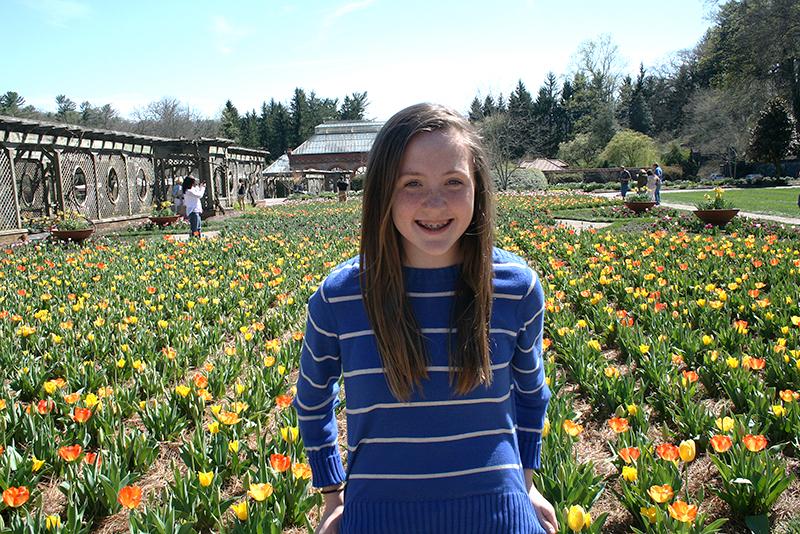 markie in the gardens