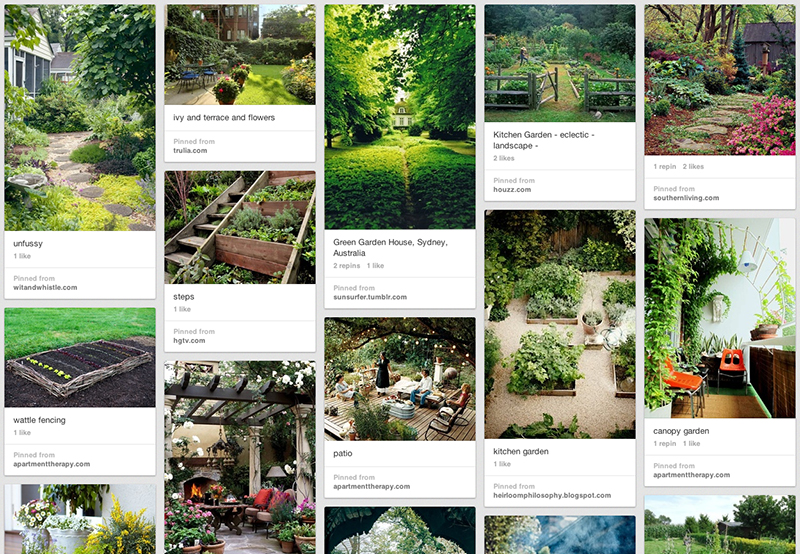 backyard garden inspiration