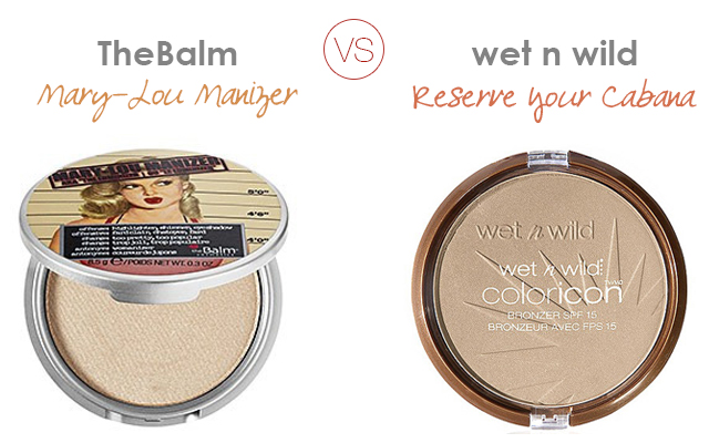 the balm mary-lou manizer vs wet n wild reserve your cabana