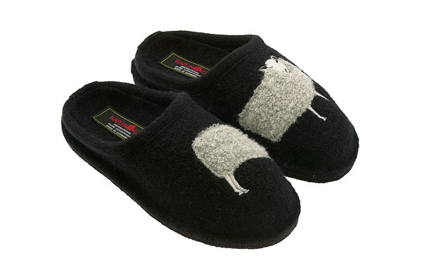 haflinger sheep slippers
