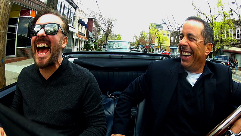 ricky gervais jerry seinfeld comedians in cars getting coffee