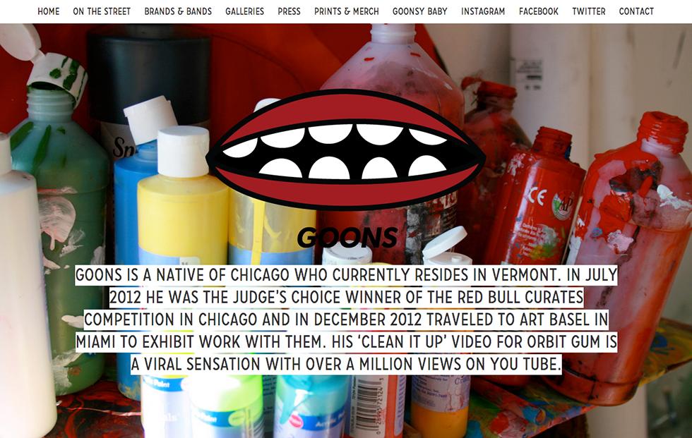 goons website