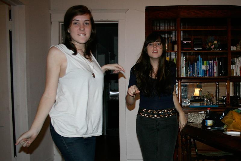 dancing and posing