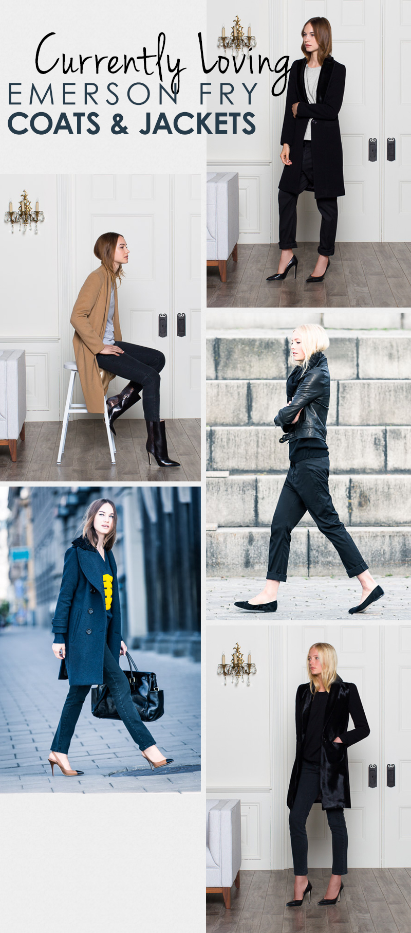 currently loving emerson fry coats and jackets