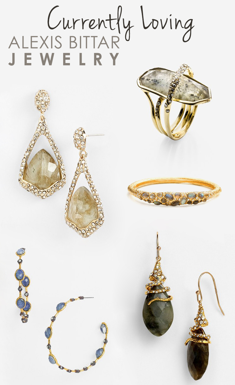 currently loving alexis bittar jewelry
