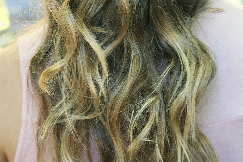 ombre blonde hair tips