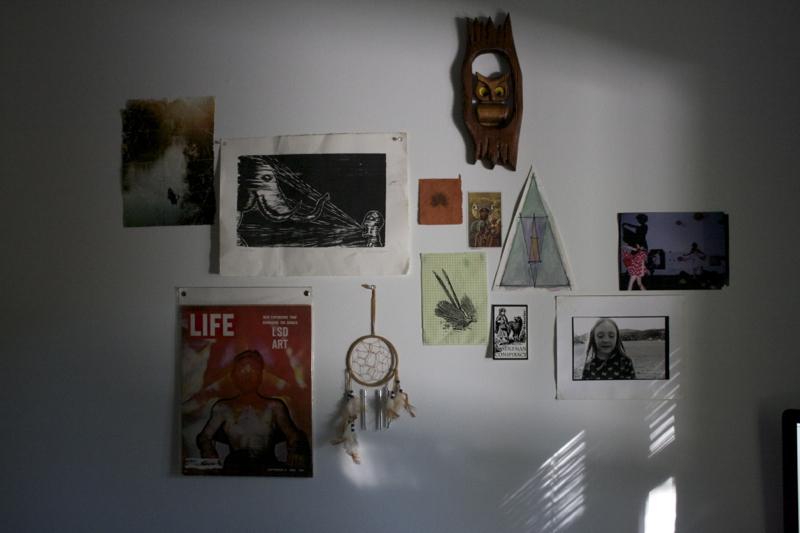 art collage prints dreamcatcher