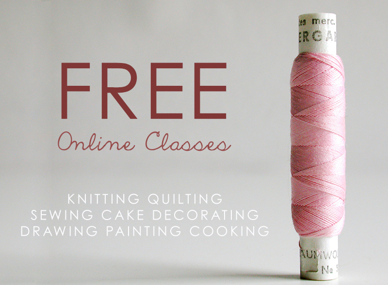 Knitting Quilting Sewing Cake Decorating Drawing Painting Cooking