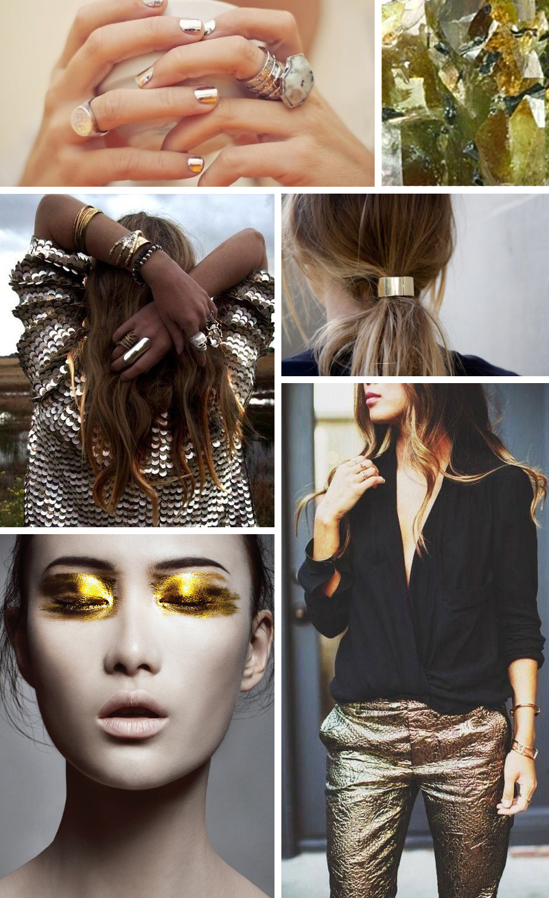 noted: metallics