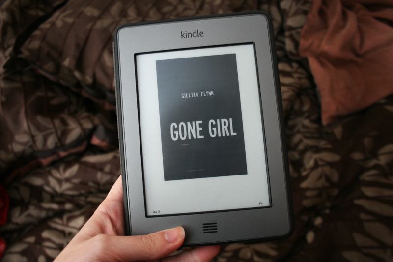 Gone Girl on the Kindle