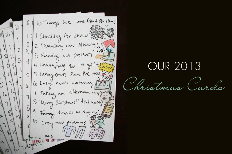 Our 2013 Christmas Cards - Full List